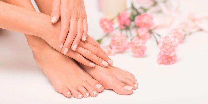 Japonská manikúra, mokrá pedikúra, parafín + masáž rúk a chodidiel