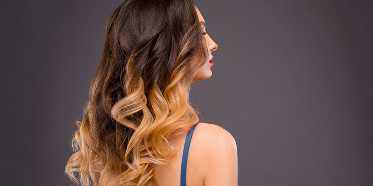 Strih, hĺbková rekonštrukcia vlasov alebo Ombré