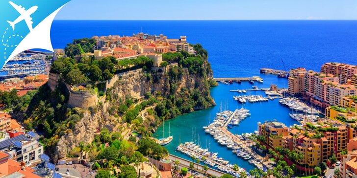 Letecký zájazd za krásami Azúrového pobrežia - to NAJ z Nice, Monaka aj Cannes