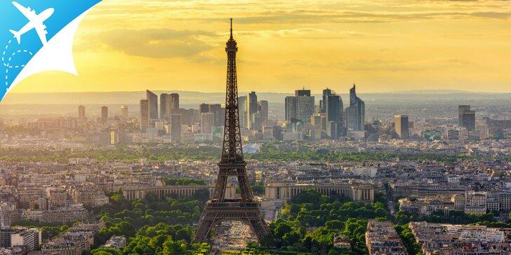5 čarovných dní v Paríži s možnosťou návštevy Disneylandu s obojsmernou letenkou v cene zájazdu