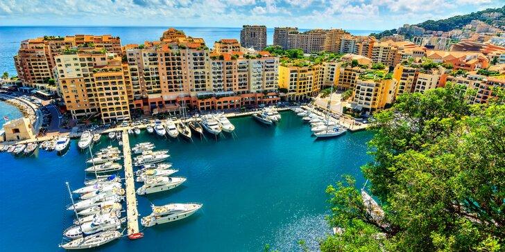 Vynikajúci výlet do slnečného Francúzska: Cannes, Saint-Tropez, Nice aj Monako