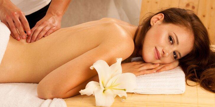 7 druhov masáží podľa výberu + aj masáž pre deti alebo pre tehotné