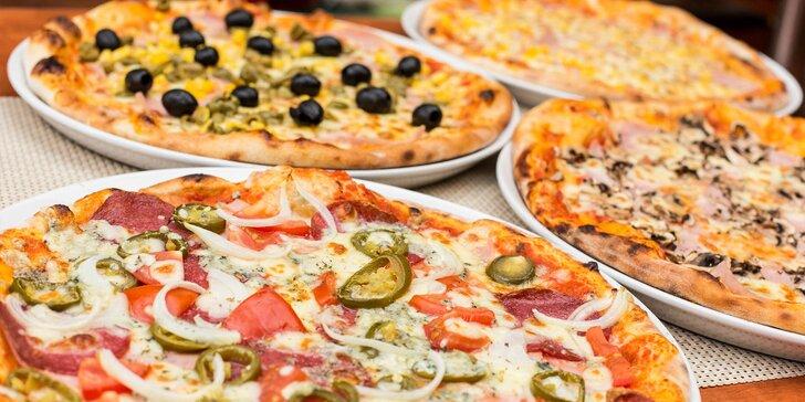 Pizza podľa vlastného výberu v Pizza Pazza Hron