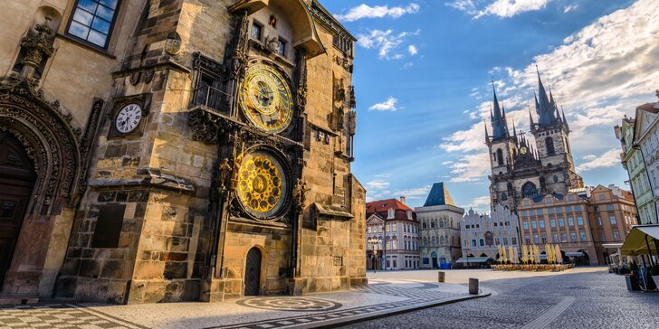 Príjemný pobyt s raňajkami alebo privátnym wellness v rodinnom Pensione Lucie**** v Prahe