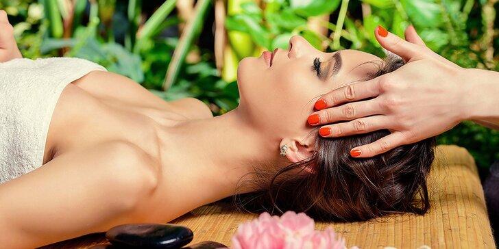Tradičná ajurvédska masáž hlavy, tváre a dekoltu. Zbavte sa stresu a migrény!
