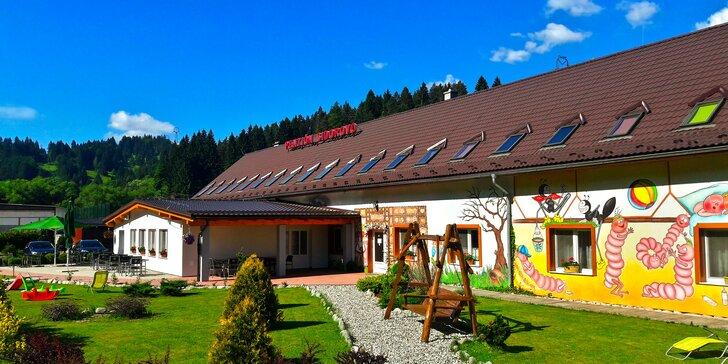 Pobyt v tichej časti Ružomberka v penzióne Sidorovo s možnosťou športu aj relaxu v okolí