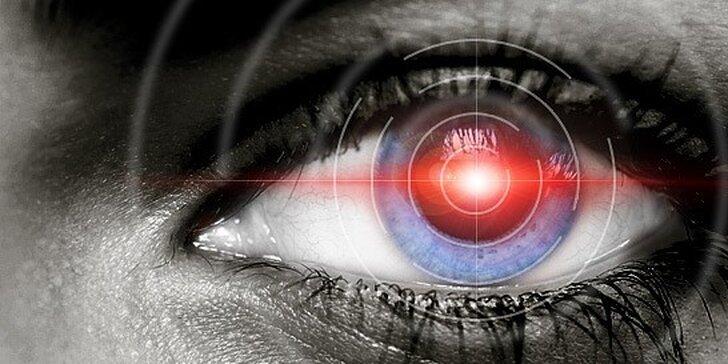 Laserová operácia očí metódou LASEK