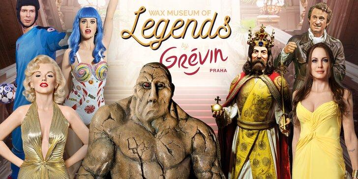 Nové múzeum voskových figurín: celebrity, športovci a pražské legendy