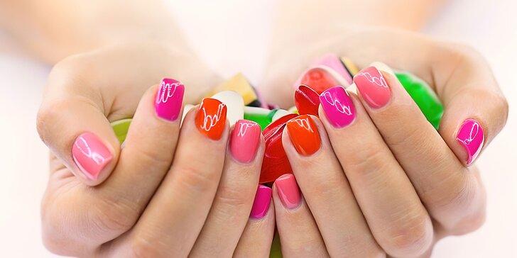 Krásne ruky s profesionálnou japonskou alebo Shellac manikúrou