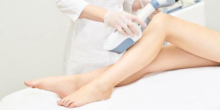 Trvalá epilácia chĺpkov technológiou E-light SHR pre ženy aj mužov