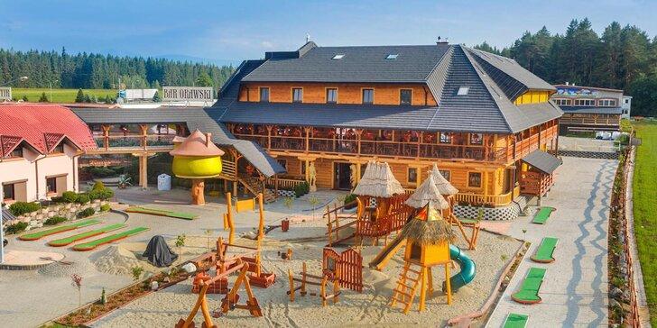 Výborná dovolenka v susednom Poľsku s množstvom atrakcií pre celú rodinu aj partie