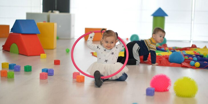 Cvičenie pre deti od 6 mesiacov - rôzne vekové skupiny