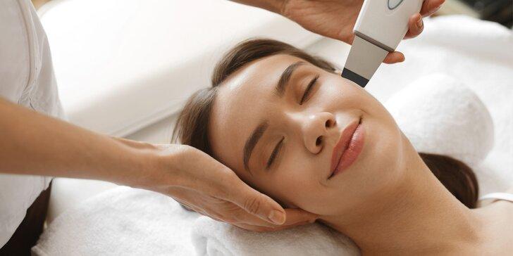 Čistenie pleti, liftingové ošetrenie, mezoterapia či masáž tváre