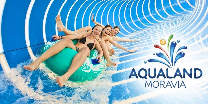 Jarné osvieženie v Aqualand Moravia: celodenné vstupy do bazéna i relax