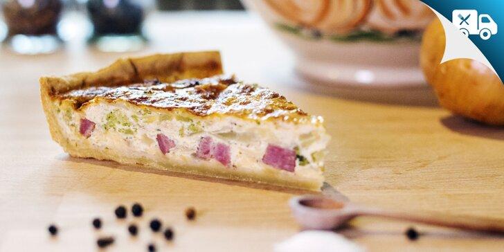 Ochutnajte tradičný francúzsky QUICHE