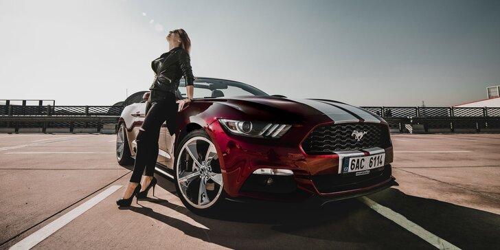 Prenájom legendárnej americkej klasiky Mustang Cabrio