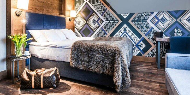 Podmanivý výhľad na štíty Tatier v pravom vysokohorskom luxuse - s wellness a polpenziou