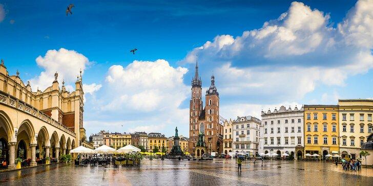 4* pobyt v kráľovskom Krakove: ubytovanie s raňajkami, bazén a sauna