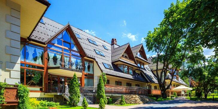 Obľúbený oddych v hoteli Belvedere**** v Zakopanom