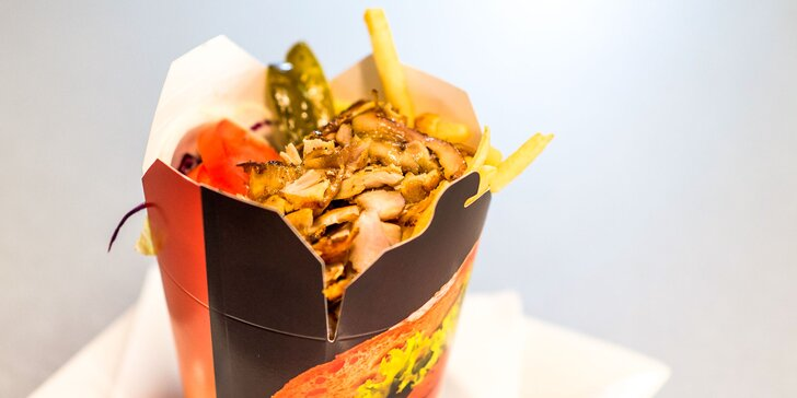 Príďte si vychutnať skvelý kebab box alebo kebab menu!