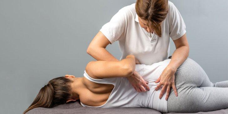 Individuálne fyzioterapeutické cvičenia a relaxačná masáž s fyzioterapeutom