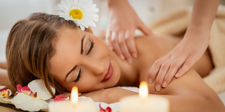 Relax s kráľovským masážnym balíčkom alebo balíček zameraný na zdravý chrbát