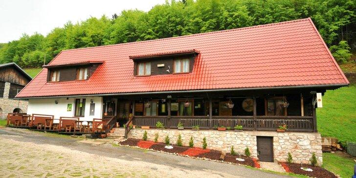 Pobyt v Penzióne Pastierňa, v malebnom prostredí Slovenského raja s množstvom atrakcií