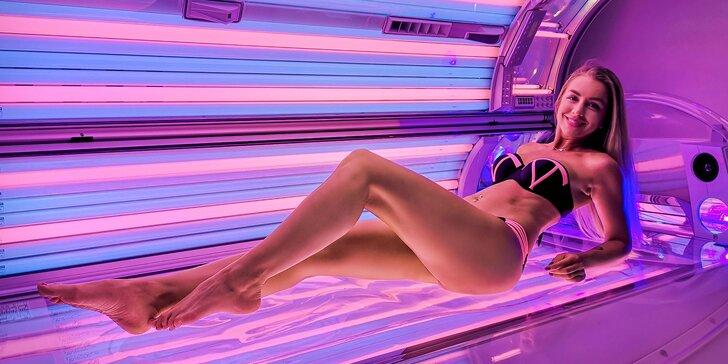 Permanentka do luxusných kolagénových solárií