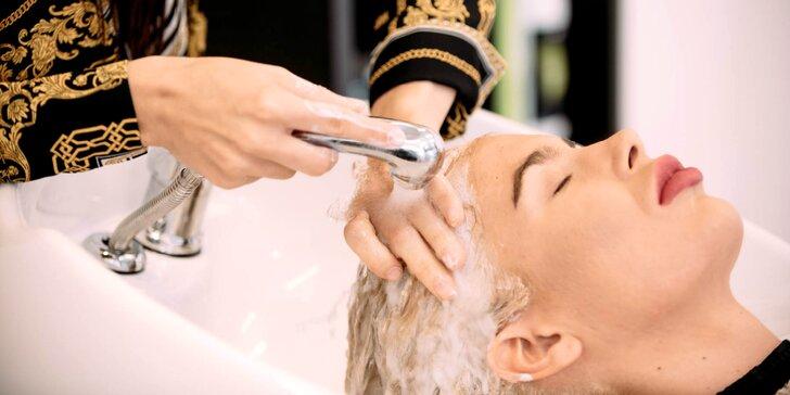Dámsky strih alebo regeneračný zábal vlasov v salóne Elisabeth
