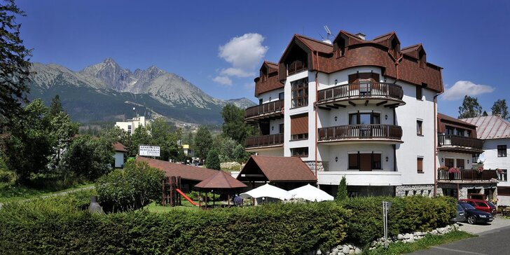 Pobyt pre 2 až 6 osôb vo Vysokých Tatrách v apartmánoch Vila BEATRICE**
