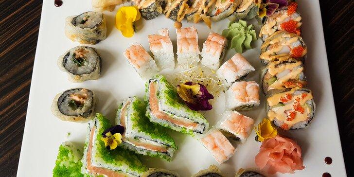 Jarný sushi špeciál v TOP Reštaurácii SUSHIHANIL pre 2 osoby