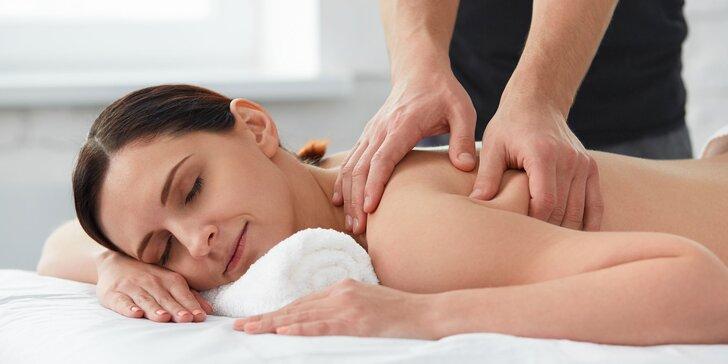 Klasická masáž, parafínový zábal alebo balík aj s reflexnou masážou chodidiel