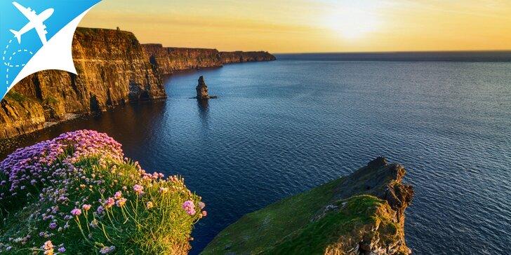 Objavovanie najkrajších zákutí Írska: letenka V CENE zájazdu