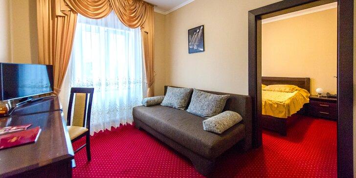 Pobyt pre dvoch alebo rodinu v centre Liptova v Hoteli EUROPA***