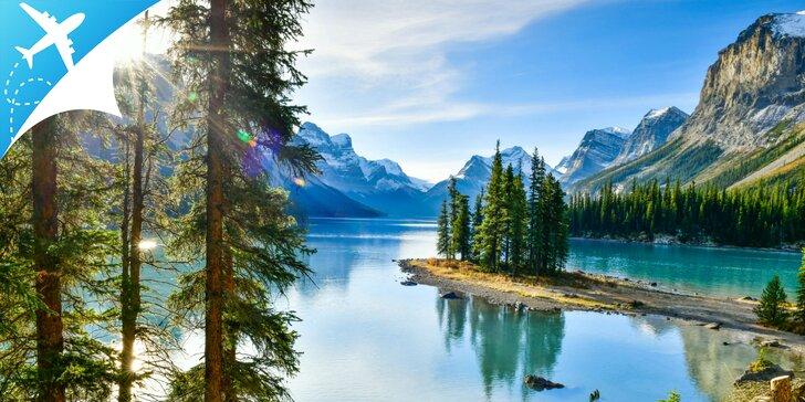 Výnimočný zájazd: legendárne národné parky západnej Kanady s letenkou v cene