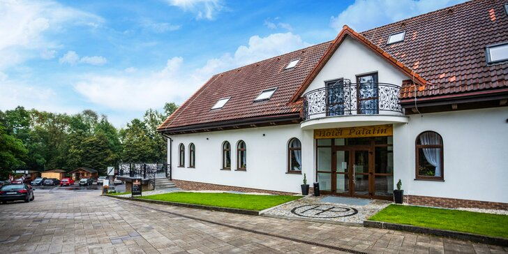 Pobyt v novom, modernom Hoteli Palatín priamo pod Oravským Hradom s 50% zľavou na vstup na hrad