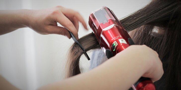 Strih vlasov so Split-Ender PRO, farbenie so strihom alebo keratín