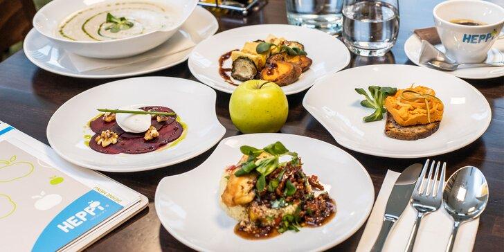 6-chodové degustačné menu pre 2 osoby v HEPPiApple restaurant