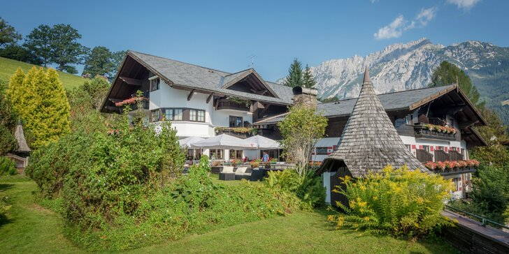 LETO v rakúskych Alpách s wellnessom v hoteli Landhaus St.Georg