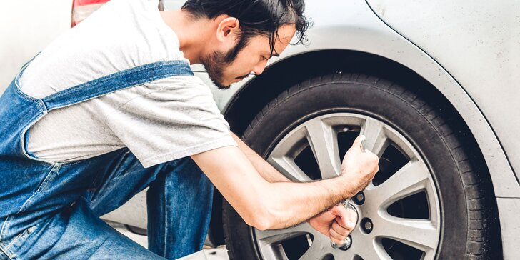 Prezutie pneumatík, prehodenie kolies na diskoch či kontrola vozidla