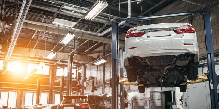 Kompletná obhliadka a diagnostika technického stavu vozidla