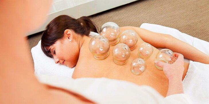 Klasická či zdravotná masáž a bankovanie v Dream Care