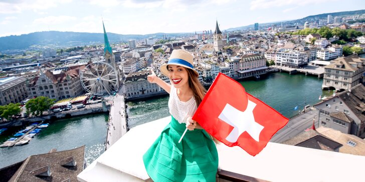 Čaro švajčiarskych Álp, Rýnskych vodopádov, čokolády, hodiniek a luxusu
