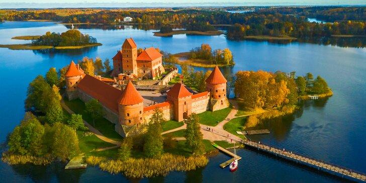 5 dňový poznávací zájazd: Pobaltské štáty, Hora krížov, Tallin, hrad Trakai