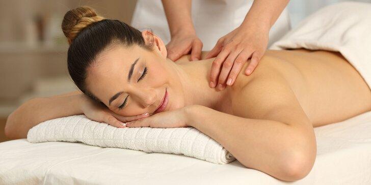 Klasická masáž vybranej časti tela