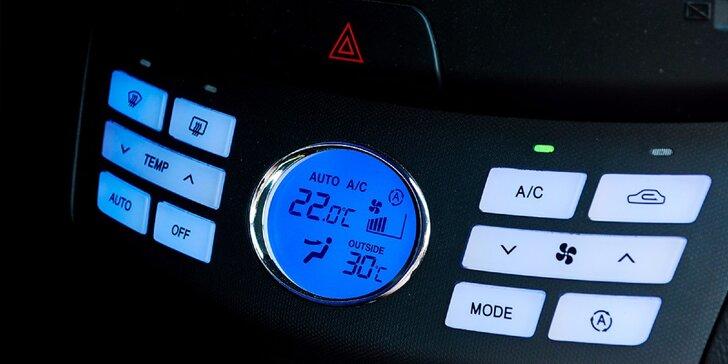 Čistenie a dezinfekcia klimatizácie vozidla ozónom aj s plnením
