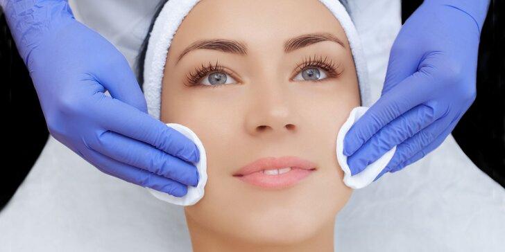Hĺbkové čistenia pleti alebo alginátové ošetrenie s masážou