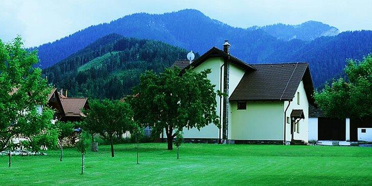 Pokojná dovolenka s rozľahlým pozemkom v Demänovskej doline vhodná pre rodiny