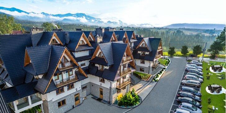 Luxusný pobyt v hoteli Sądelski Dwór**** pri Zakopanom