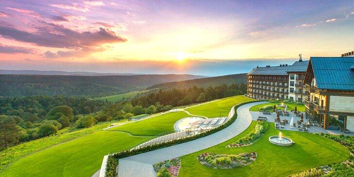 Pobyt v lone panenskej prírody v luxusnom hoteli s 3-poschodovým wellness & spa a s lákavými atrakciami pre celú rodinu